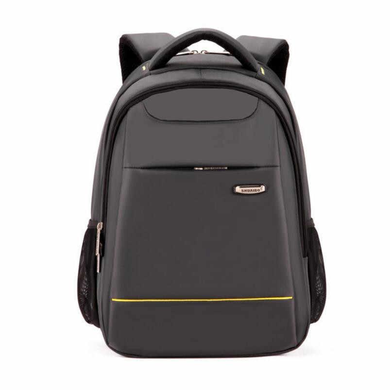 boys school bags student school backpack waterproof laptop bag 15.6 men  travel bags schoolbag bagpack birthday 0512a23f98aa6