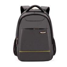 De alta calidad de los muchachos mochilas colegio mochila impermeable 15 pulgadas bolsa de ordenador portátil hombres bolsas de viaje mochila mochila de regalo de cumpleaños