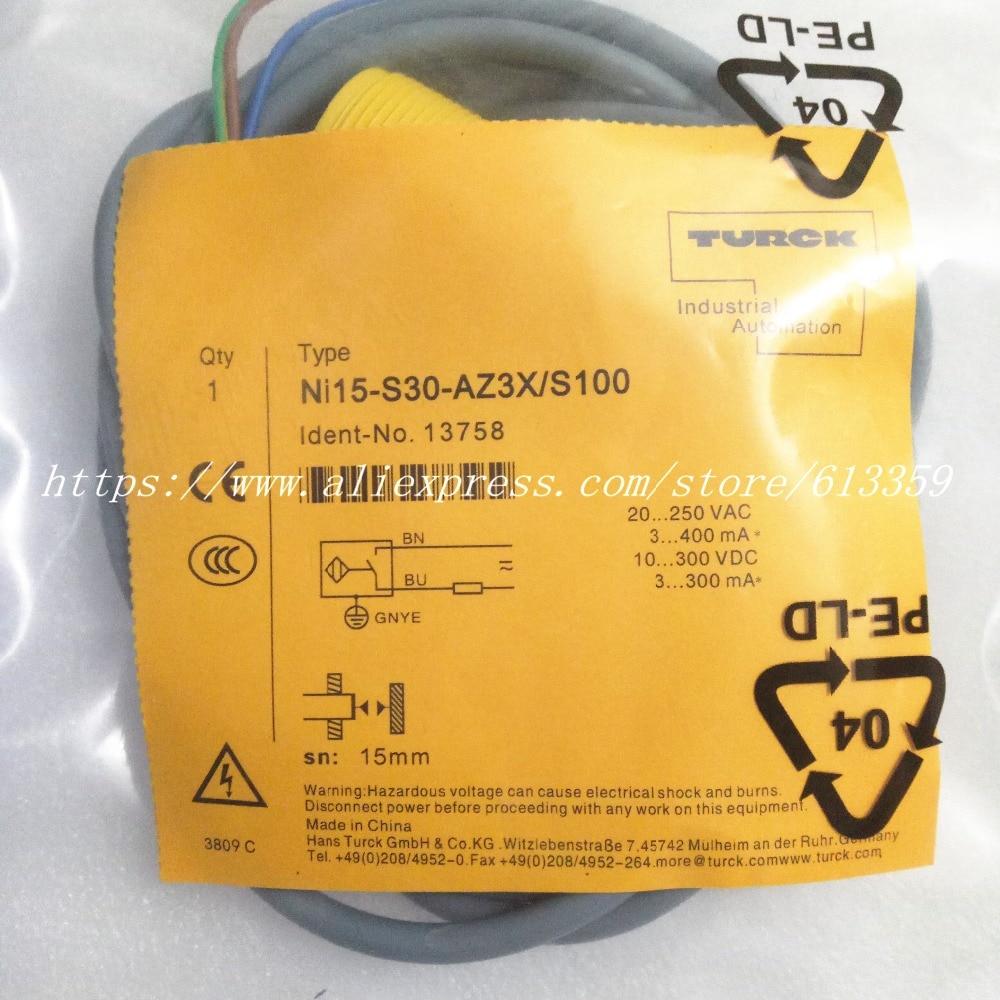 Turck Ni15-S30-AP6X-H1141 Proximity Sensor w//Cable