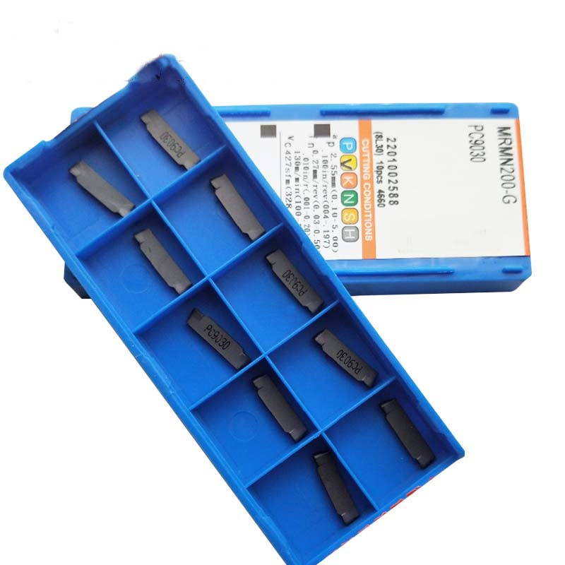 10PCS MRMN200-G PC9030 Carbide Inserts NEW Round Head Cutting Lathe Tool
