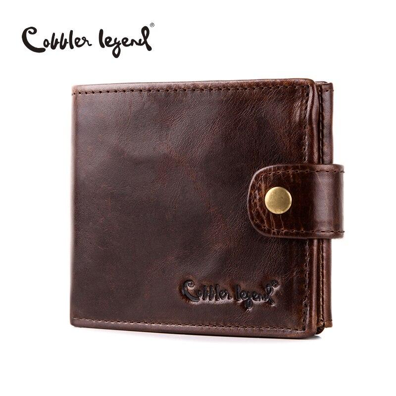 sapateiro lenda real carteiras curtas Composição : Head Layer Leather