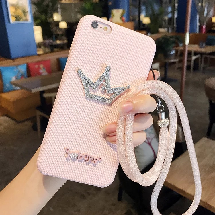 Luxury Diamond Crown Soft Cases For Oppo F1 Plus Back Covers I love Boys  Bling Girls Leathr Case For Oppo R9 Phone Covers-in Fitted Cases from  Cellphones ... f48affe21b63