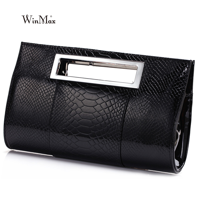 New  Hot Noble Ladies Handbags Fashion Women Alligator Design Day Clutches Evening Bags Bride Wedding Party Bags Bolsas Mujer yuanyu 2018 new hot free shipping pearl fish skin long women clutches euramerican fashion leisure female clutches