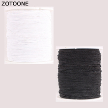 ZOTOONE White Black Sewing Machine Threads Set Polyester for Leather Fabric DIY Accessories Yarn Knitting Lot