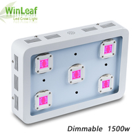 Led Plant Grow Light Full Spectrum 1500w Dimmable Bestva for All Stages Indoor Greenhouse and Bloom Tent Grow Light