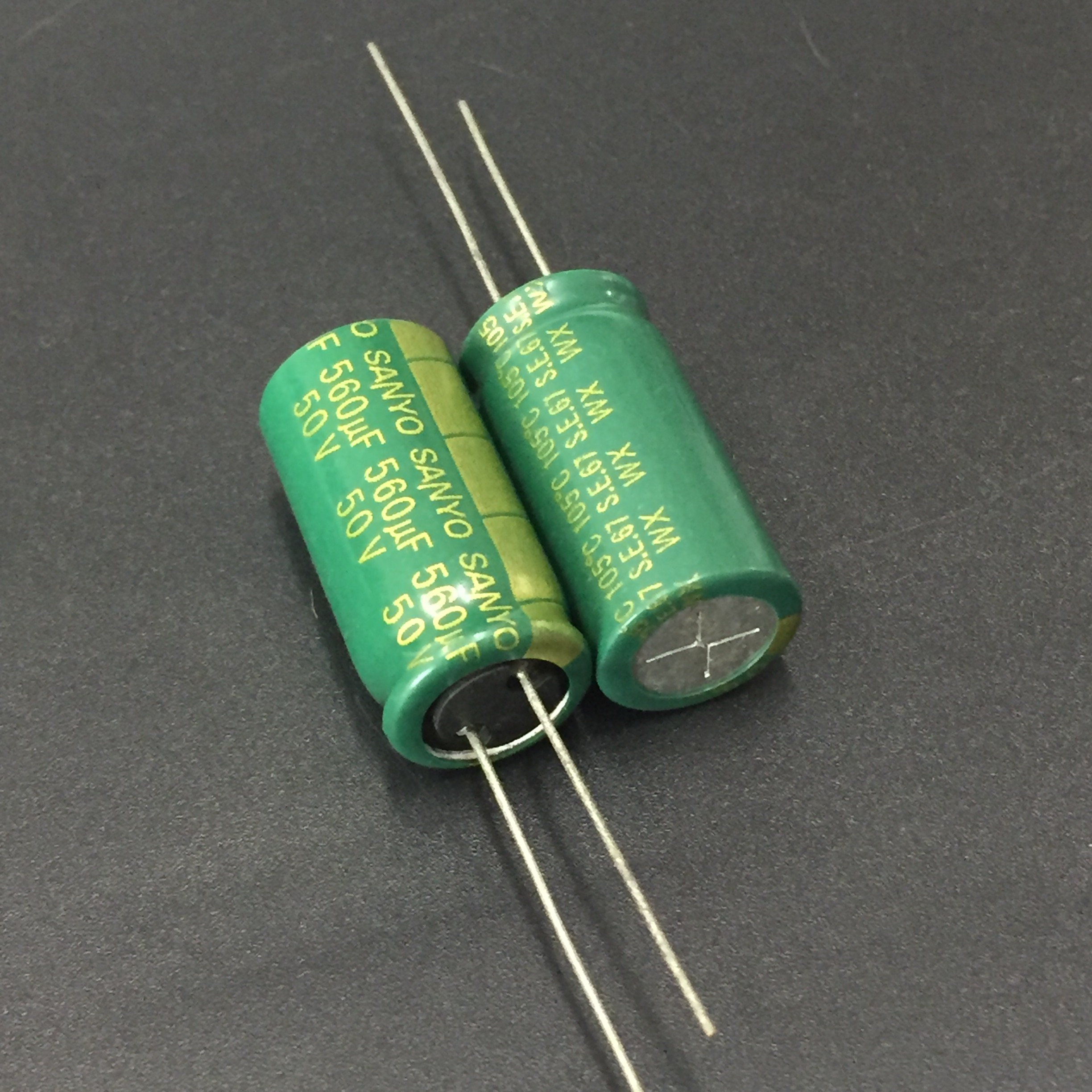 10pcs 560uF 50V SANYO WX Series 12.5x25mm Low Impedance 50V560uF Motherboard Aluminum Electrolytic Capacitor
