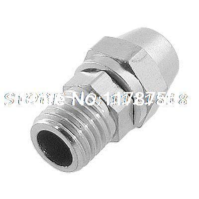 M8 Thread 4mm x 6mm Air Hose Tube Pneumatic Fitting Quick Disconnect Coupler 5pcs hvff 08 pneumatic valve control hvff 8mm tube pipe hose quick connector hand valves plastic pneumatic hose air fitting