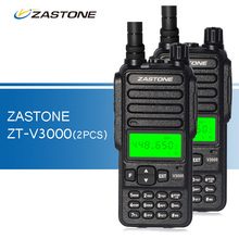 2pcs/lot Zastone ZT-V3000 Walkie Talkies UHF 400-480HMz Professional Two Way Radio Ham CB Radio FM Transceiver WalkieTalkie