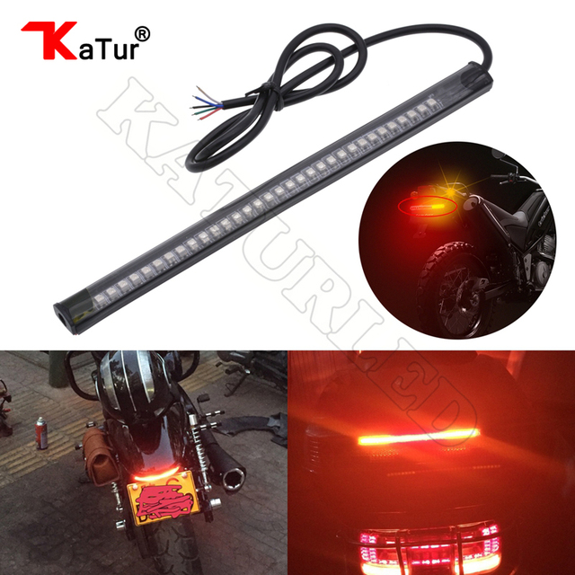 Motorcycle led light strip tail brake stop turn signal for harley davidson 32 3528 led 8 license plate flexible led light red on aliexpress motorcycle led light strip tail brake stop turn signal for harley davidson 32 3528 led aloadofball Gallery