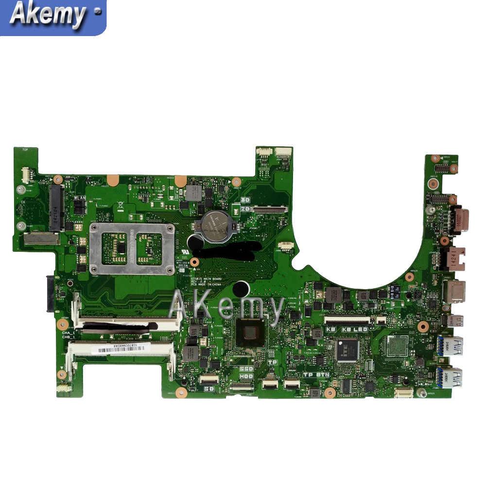 G750JYA placa base de computadora portátil I7-4860HQ CPU soporte GTX980M 8GB placa base ASUS G750J G750JY G750JYA 90NB07J0-R00020 prueba 100%