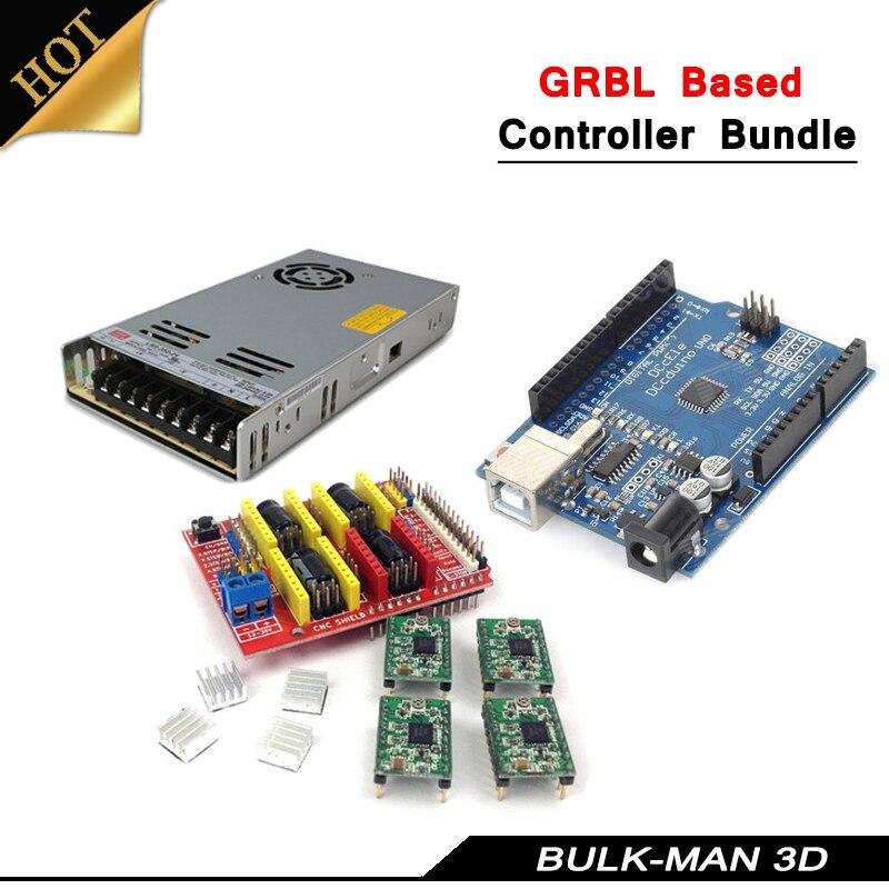 GRBL Системы на базе контроллера Комплект для остеоартрит... WorkBee OX ЧПУ