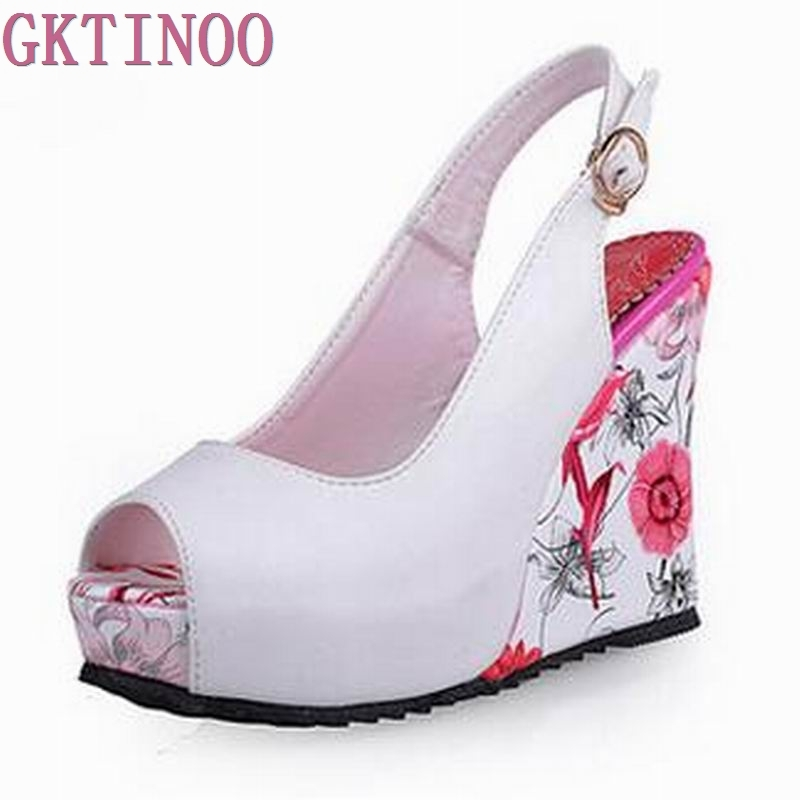 aliexpress buy 2017 new wedge sandals shoes