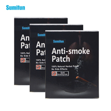 105 Patches=3box Sumifun 100% Natural Ingredient Stop Smoking &Anti Smoke Patch Quit Smoke Cessation Health Therapy D0584