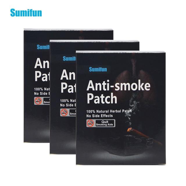 105 Patches = 3box Sumifun 100% Natuurlijke Ingrediënt Stop Roken & Anti Rook Patch Stoppen Rook Stoppen Met Gezondheid Therapie d0584