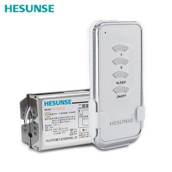 HS-QA022 1304 W двухстороннее 85 V-265 V 10A Беспроводной РФ дистанционного Управление коммутатор с настенный выключатель Функция >> Zhongshan Hesunse Hardware Appliances Co.,Ltd