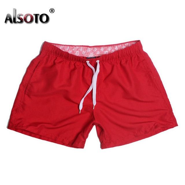 Swimsuit Beach Quick Drying Trunks For Men Swimwear sunga Boxer Briefs zwembroek heren mayo Board shorts Fast Dry Trunks 5