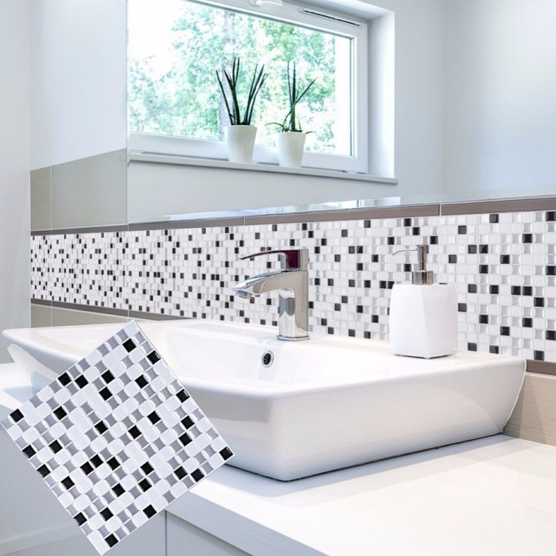 Self Adhesive Wall Tiles Peel And Stick Backsplash Kitchen: Aliexpress.com : Buy 3D Peel And Stick Backsplash