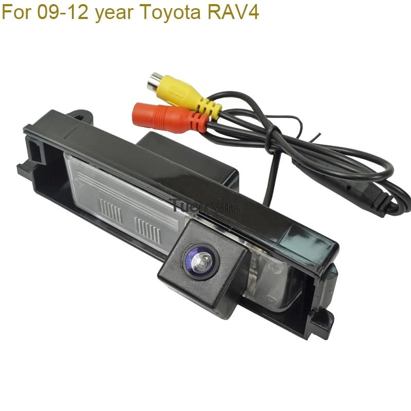 המכונית האחורי להציג מצלמה למכונית צג חניה מערכת גיבוי הצופה היפוך צג עבור TOYOTA RAV4 / CHERY A3 ראיית לילה
