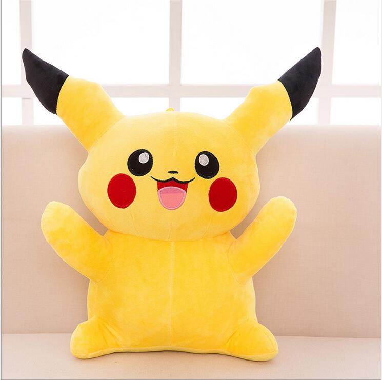 1pc 22cm Pikachu Plush Toys High Quality Very Cute Stuffed Animal Dolls Children Toys Movie Tv Kids Christmas Gift