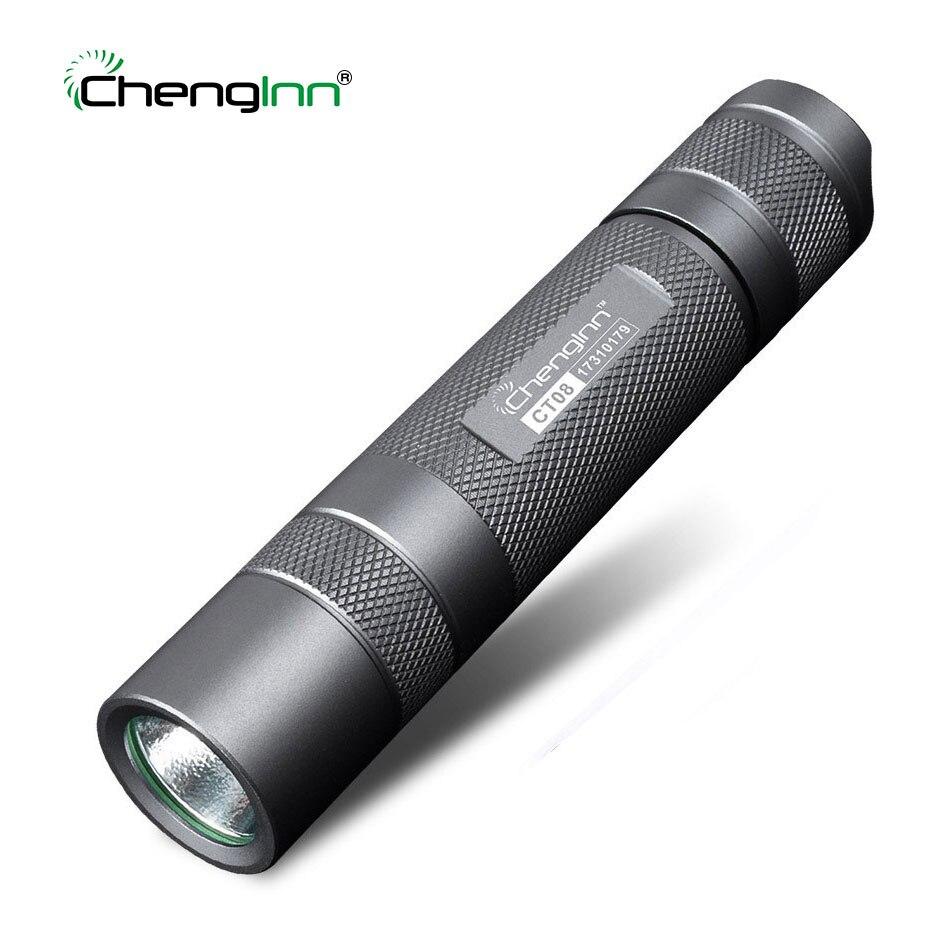 SOS Military tactical flashlight Alumini