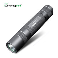 SOS Strobe Military Tactical Flashlight Lightweight Portable Aluminium Alloy Convoy Flashlight Torch Ipx8 Diving Torch Chenglnn