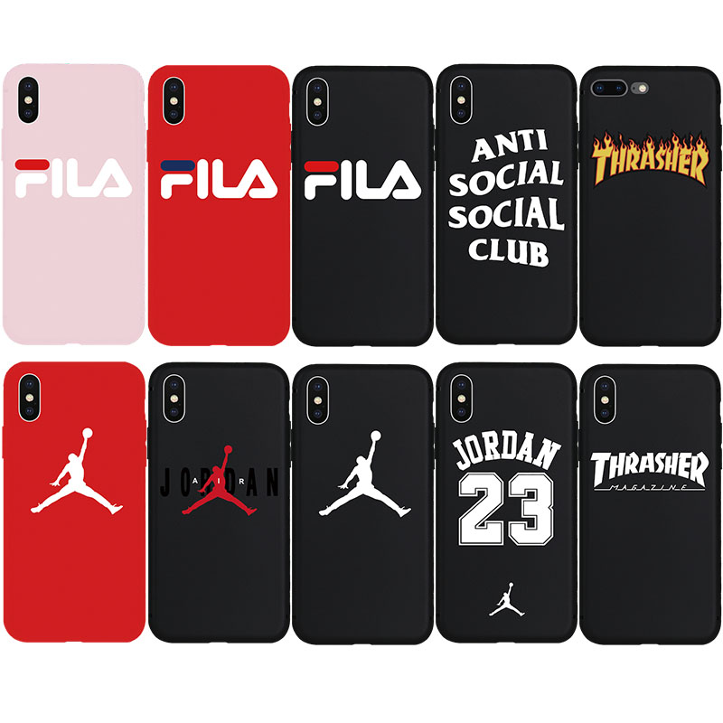 Brand NEW Hype Street Anti Social Club Culture Soft Case for iPhone 7Plus 8Plus X Xs Max XR 8 7 6 6s Plus 5 5s SE Phone Cover hoodie
