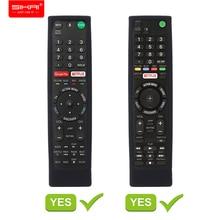 SIKAI حالة غطاء من السيليكون لسوني صوت التحكم عن بعد RMF TX200 لسوني OLED الذكية التلفزيون عن بعد حالة حالة وقائية لبعيد