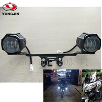LED Auxiliary Mistlampen Montage Voor kawasaki versys 650 led licht -