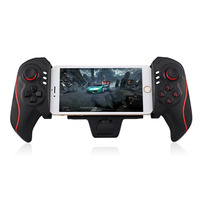 Extending Mobile Game Controller PYRUS Telescopic Wireless Game Controllers Gamepad For IPhone Ipad