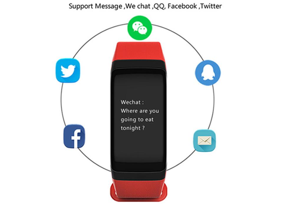 LETIKE Blood Pressure Smart Bracelet Sport Pedometer Fitness Tracker Wrist Smartband Pulse Measure Waterproof For IOS Android 8