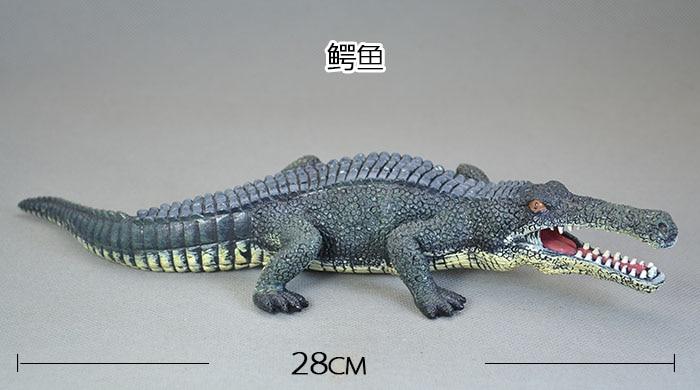 Prehistoric Crocodile Simulation Model / Toy Sarcosuchus Dinosaur Crocodile Emperor Meticulous Workmanship