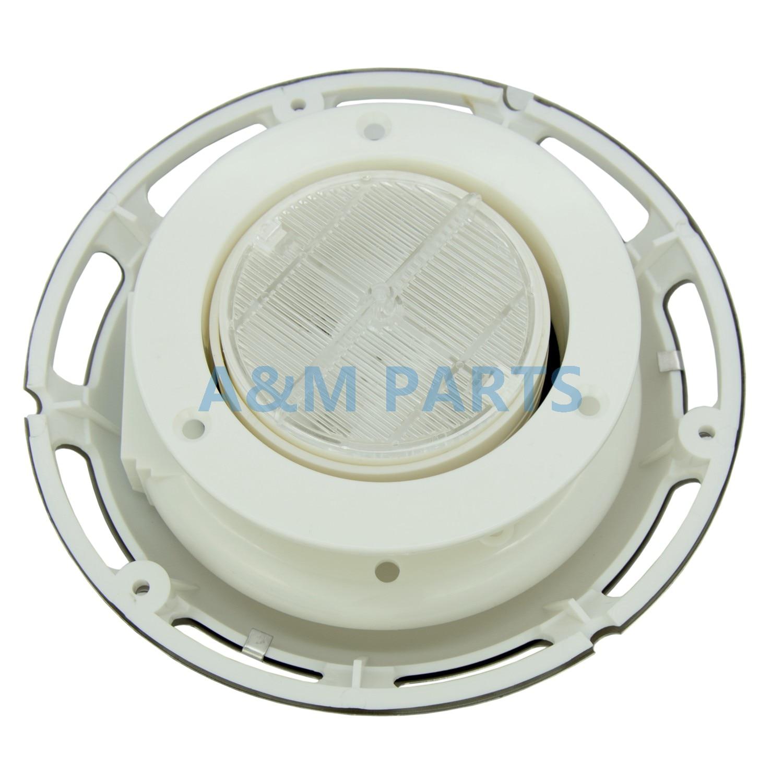 Solar Powered Ventilators Caravan Boat Exhaust Intake Fan Vent W// Battery Switch