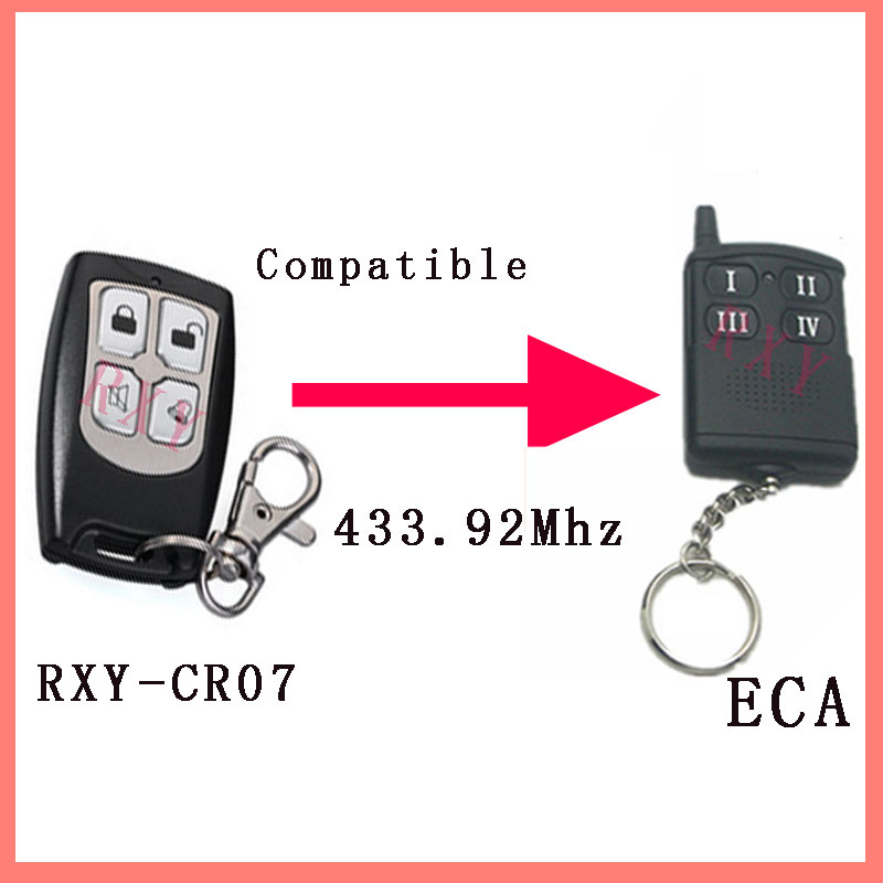 Compatible Electronic Engineering ECA Gate/Garage Remote Control human performance engineering легинсы