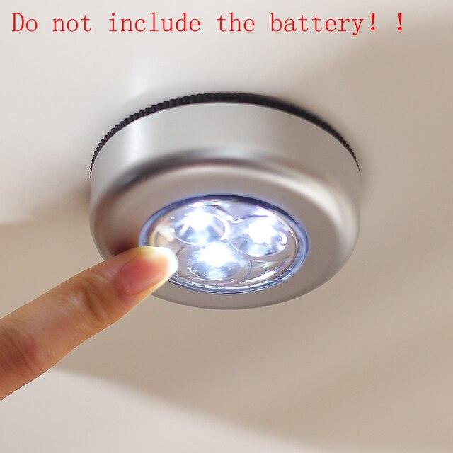 closet lighting wireless. Practical Night Light Wireless Battery Power LED Under Cabinet Closet Lamp Push (not Lighting L