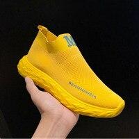 Женские массивные кроссовки на платформе; цвет желтый, белый; женская обувь на толстой подошве; Вулканизированная женская обувь; коллекция ...