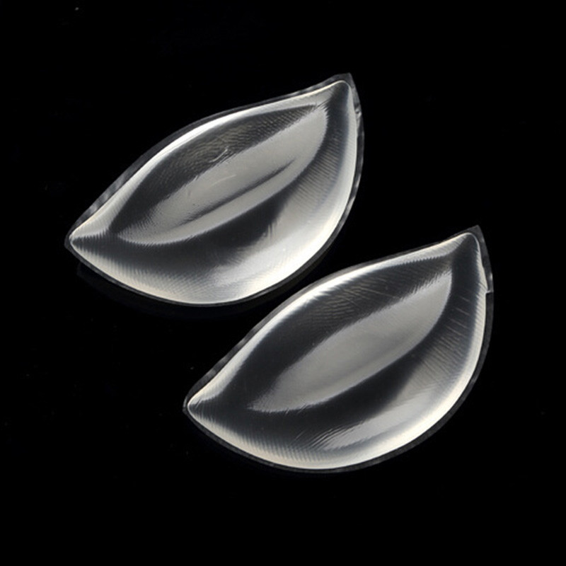 Sexy Women Silicone Bra Gel Invisible Inserts Breast Pads Push Up Bra Insert Breast Enhancer Inserts for Dress Bikini Swimsuit 9
