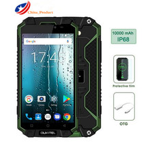 """Oukitel K10000 Max 10000mAH 4G LTE IP68 Waterproof 3GB+32GB 5.5 """" Android 7.0 Octa Core Outdoor Mobile Phone"""