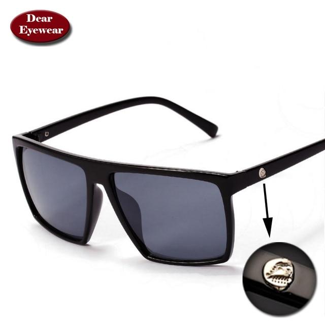 d807832bd41b8 Retro vintage big size square sunglasses men UV400 mens sunglasses brand  designer driving fishing vinrage sun