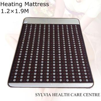2018 NEW present! Tourmaline Jade Stone mattress Thermal bed Mattress jade Mat Infrared Heating Mat free sleep eye cover1.2X1.9M