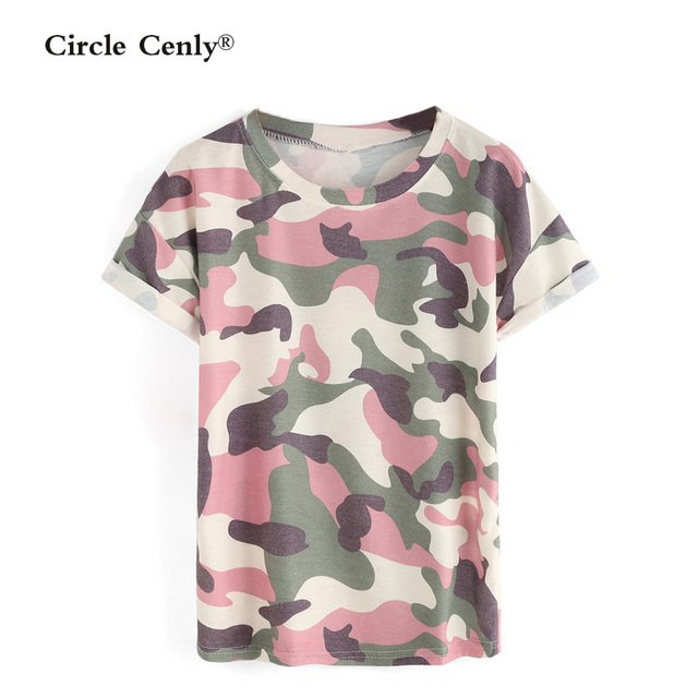 e626eef489 US $15.89 |Women Camouflage T shirts Bat sleeve t shirts Stretch Cotton  tees Modal tops Personalized Plus size S/M/L/XL-in T-Shirts from Women's ...