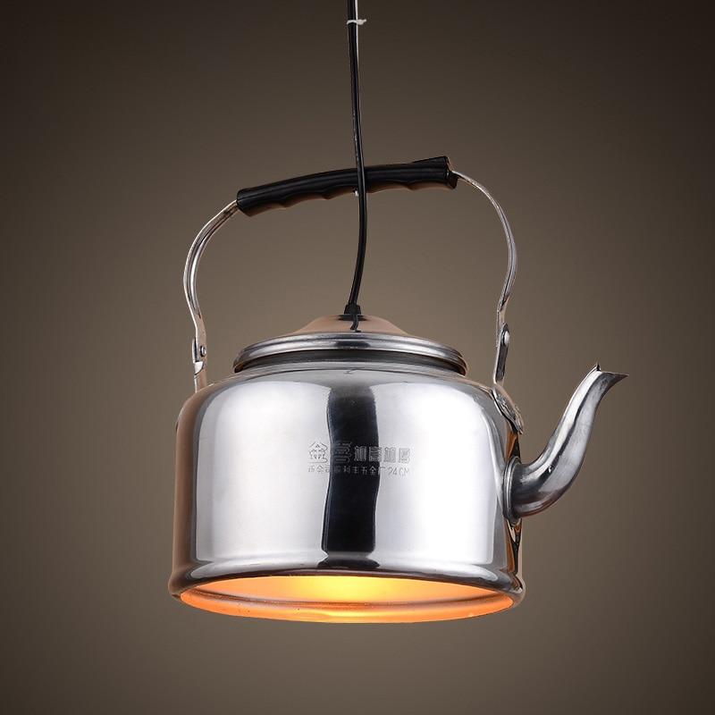 Nordic Loft Aluminum China Characteristic Kettle Lamp Hotel Restaurant Hot Pot Farmhouse  Suspension Pendant Light|suspension pendant light|pendant lights|suspension light - title=