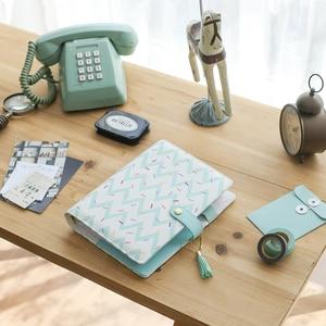 Image 2 - Lovedoki 2019 Cute Doughnut A5 Planner Dokibook Spiral Notebooks Organizer Agenda for Filofax Student Diary Stationery Supplies