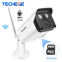 Techege 1080P HD WIFI IP Camera 1 0MP 1 3MP WiFi Camera Audio Record Waterproof Nignt