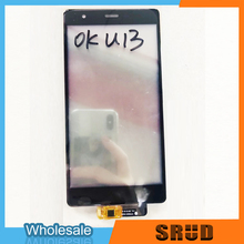 цены High Quality 5.5 Inch Black LCD Touch Glass Digitizer Panel For Oukitel U13