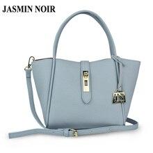 Jasmin noir marke designer frauen leder handtasche umhängetasche umhängetasche für damen hohe qualität luxus tasche über schulter