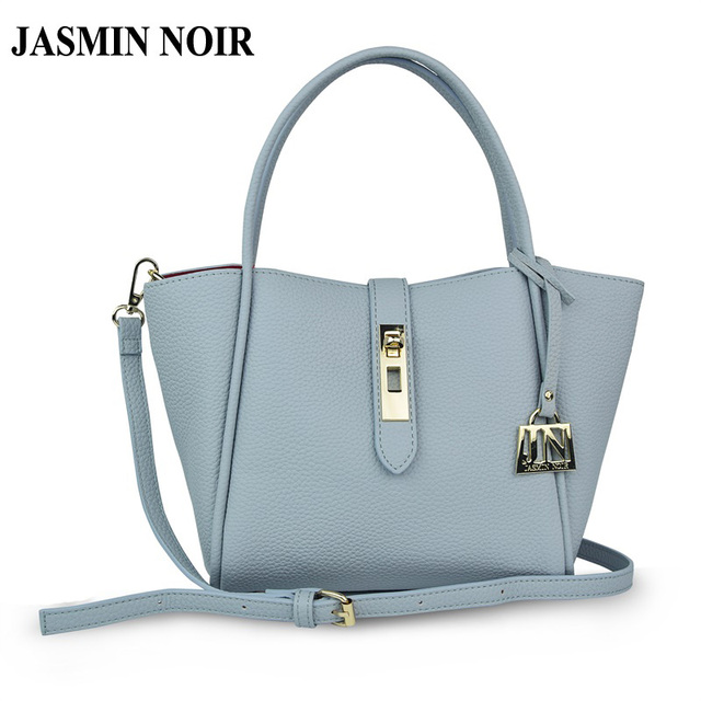 JASMIN NOIR Brand Designer Women Leather Handbag Messenger Bag crossbody bag for ladies high quality Luxury Bag over Shoulder