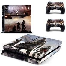 PS4 полный кожи Стикеры лицевые панели судьбы 2 супер для sony playstation 4 консоли и контроллера