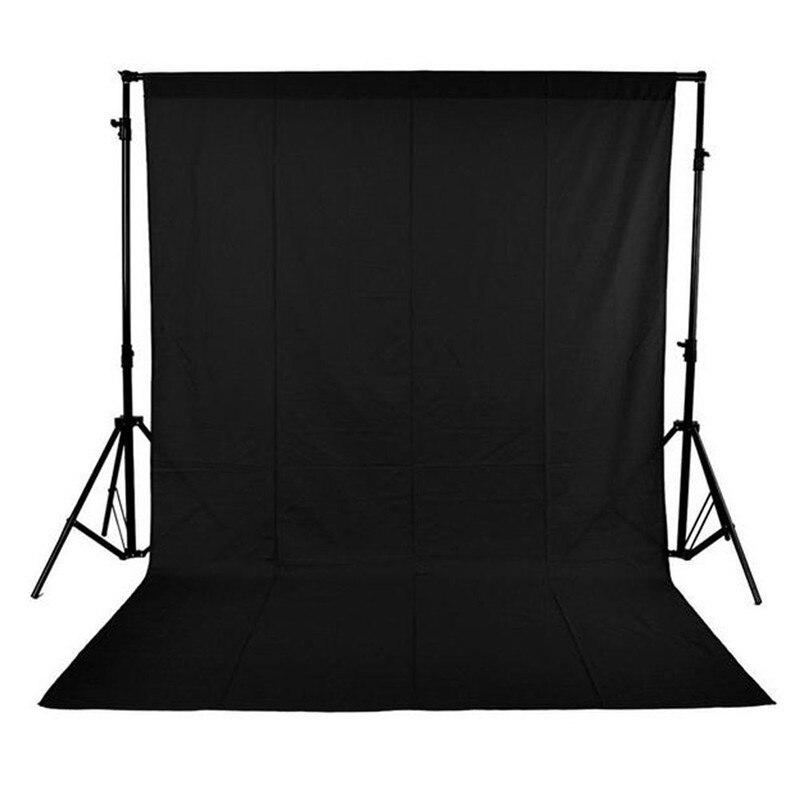 Noir 1.5x3 m Photo Studio Photographie Fond Toile de Fond Non Tissé Haute Qualty 5ft x 10ft Fond