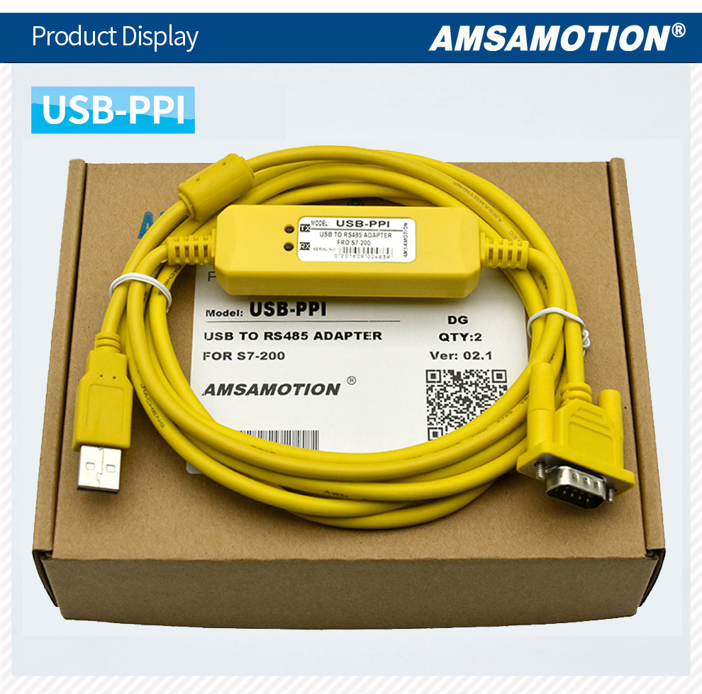 Usb Ppi Programming Cable To Rs485 Adapter For Siemens S7 200 Rs 485 Wiring 02