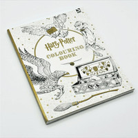 Harry Potter Coloring Book 96pages In Total For All Fans Of The Blockbuster Saga Kill Time